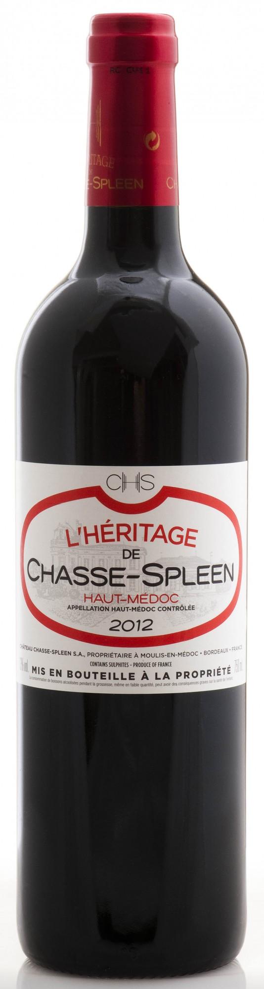 Héritage Chasse Spleen 2012