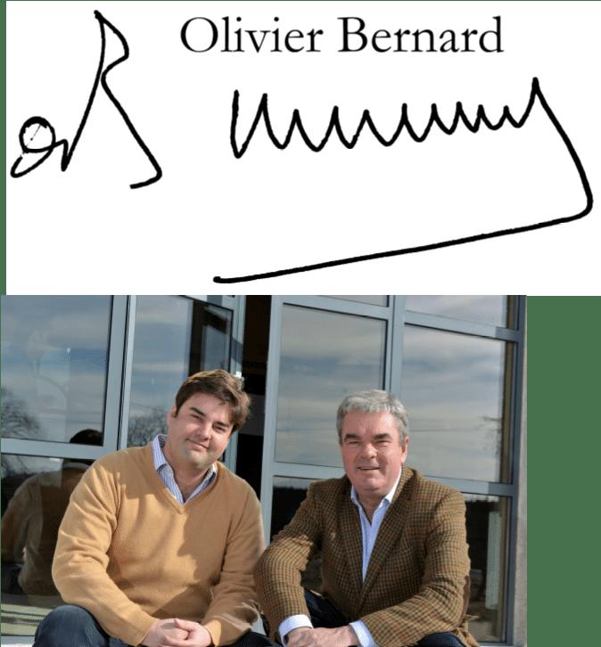 Olivier Bernard signature