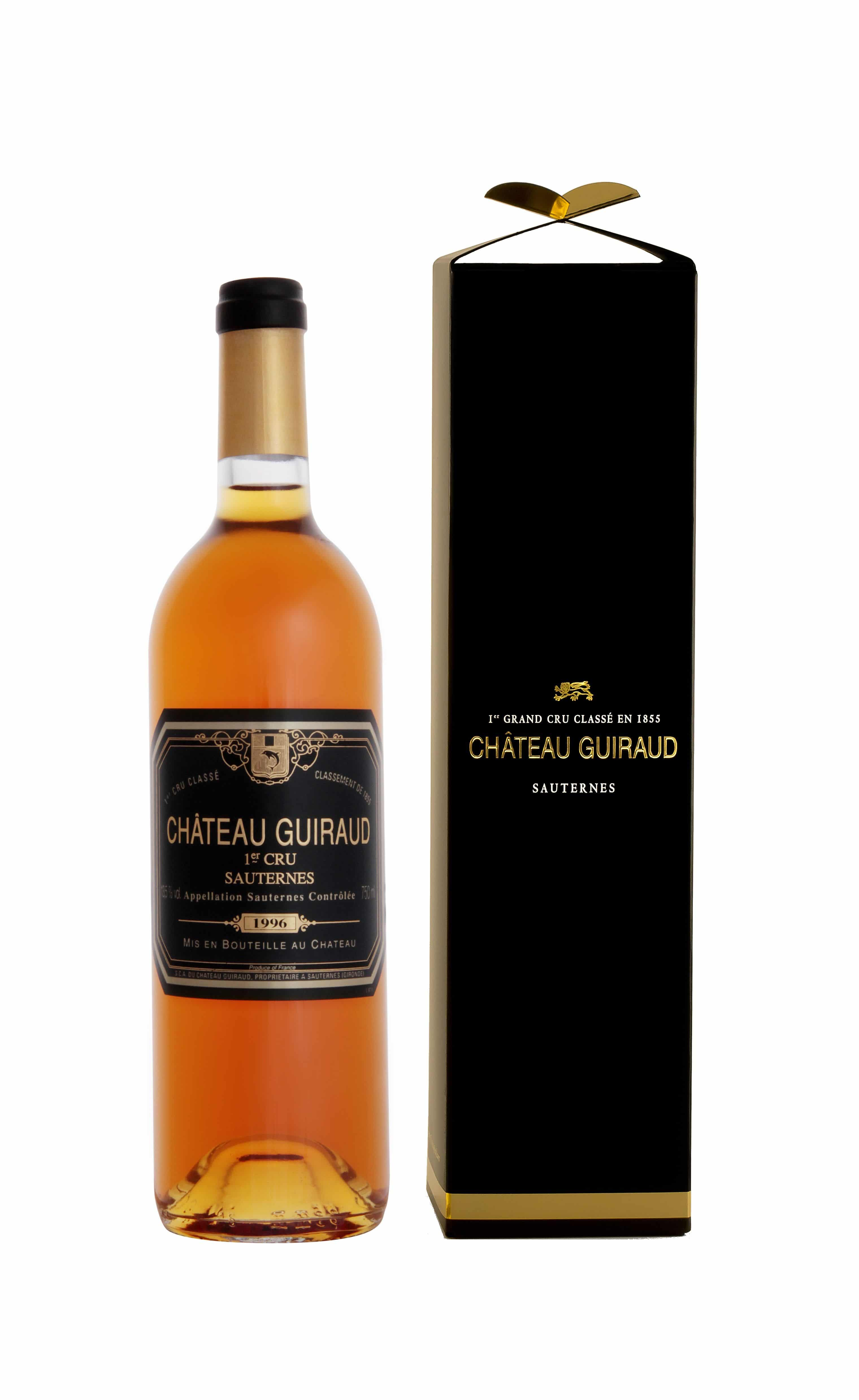 We Are Glad To Introduce You The Amazing Release Of Chteau Guiraud 1996 1st Cru Class Sauternes Celebrating 20 Years Organic Commitment